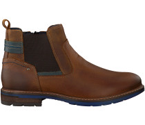 Cognac Omoda Chelsea Boots 620084