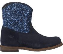 Blaue Clic Kurzstiefel CL8882
