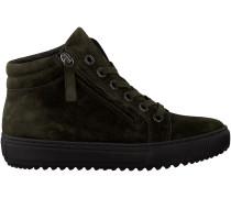 Grüne Gabor Sneaker 685
