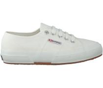 Weiße Superga Schnürschuhe JCOT CLASSIC