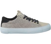 Beige HUB Sneaker HOOK-W DOTTED