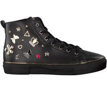 Schwarze Guess Sneaker FLGAR3 ELE12