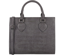 Graue Supertrash Handtasche ALABAMA MEDIUM CROC