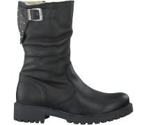Schwarze Omoda Stiefel B01/4213-R