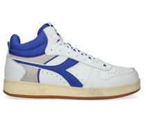 Sneaker High Magic Basket Demi Cut Icona Weiß Herren