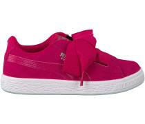 Rosa Puma Sneaker SUEDE HEART SNK PS