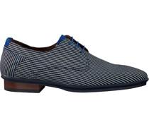 Business Schuhe 18441 Blau Herren