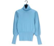 Rollkragenpullover Sweater Laredo Blau Damen