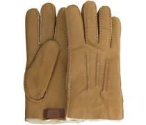 UGG Handschuhe Contrast Sheepskin Glove Camel Herren