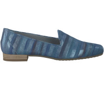 Blaue Maripé Loafer 16549