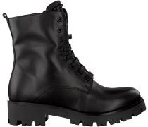 Schwarze Tosca Blu Shoes Schnürboots SF1713S245