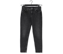 Slim Fit Jeans The Keeper Slim-fit Jeans Cont Grau Damen