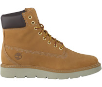 Camelfarbene Timberland Boots KENNISTON 6IN LACE UP