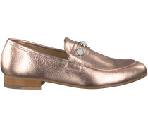 Rosé goldene Omoda Loafer 7024
