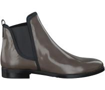 Taupe Maripé Chelsea Boots 23289