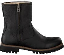 Schwarze Blackstone Biker Boots OL24