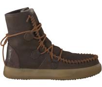 Braune Karma of Charme Boots YMIZ M LACCI