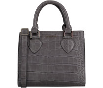 Graue Supertrash Handtasche ALABAMA MINI CROC