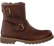 Braune Panama Jack Ankle Boots FAUST IGLOO