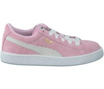 Rosa Puma Sneaker SUEDE JR