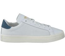 Weisse Adidas Sneaker COURT VANTAGE DAMES