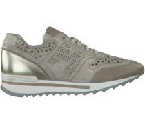 Beige Maripé Sneaker 22365