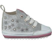 Silberne Shoesme Babyschuhe BP7S008