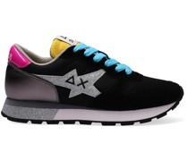 Sneaker Low Ally Star Glitter Logo W Schwarz Damen