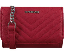 Rote Supertrash Umhängetasche BARCLAY QUILTED MINI