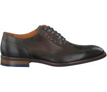 Grüne Omoda Business Schuhe 8233