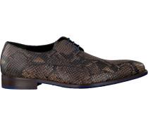 Floris Van Bommel Business Schuhe 18159 Braun Herren