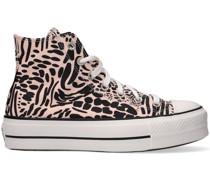 Converse Sneaker High Chuck Taylor All Star Lift Hi Schwarz Damen
