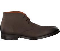 Braune Van Lier Business Schuhe 6151