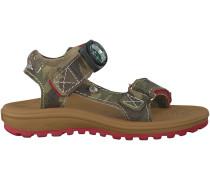 Grüne Shoesme Sandaletten OU6S115