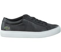 Schwarze Lacoste Sneaker L1212