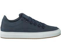 Blaue Nubikk Sneaker JULIEN MIELE LIZARD
