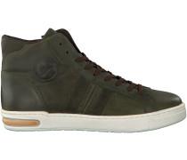 Grüne Hip Sneaker H1207