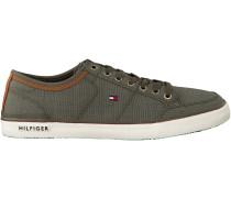Grüne Tommy Hilfiger Sneaker CORE MATERIAL MIX SNEAKER