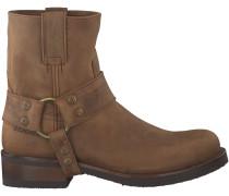 Braune Sendra Stiefel 9077 RONDE LEEST