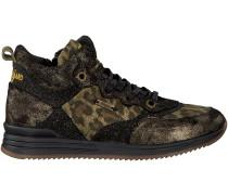 Schwarze Vingino Sneaker ELORA MID