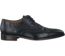 Blaue Van Bommel Business Schuhe 17091