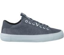 Blaue HUB Sneaker HOOK-W DOTTED
