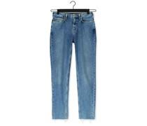 Slim Fit Jeans High Five High-rise Slim Conta Blau Damen
