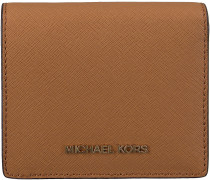 Cognac Michael Kors Kreditkarteninhaber FLAP CARD HOLDER