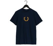 T-shirt Laurel Wreath T-shirt Dunkelblau Herren
