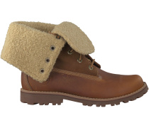 Cognac Timberland Boots 6IN WP SHEARLING BOOT