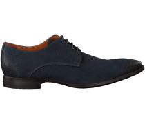Blaue Van Lier Business Schuhe 96050