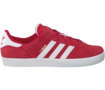 Rote Adidas Sneaker GAZELLE KIDS