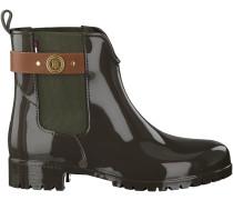 Grüne Tommy Hilfiger Chelsea Boots O1285XLEY 13R