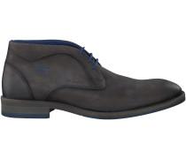 Graue Braend Business Schuhe 424432